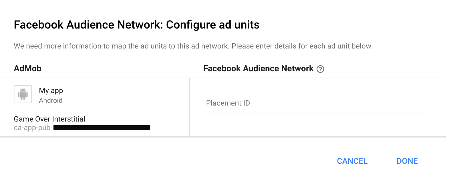 Integrating Facebook Audience Network with Mediation | Android
