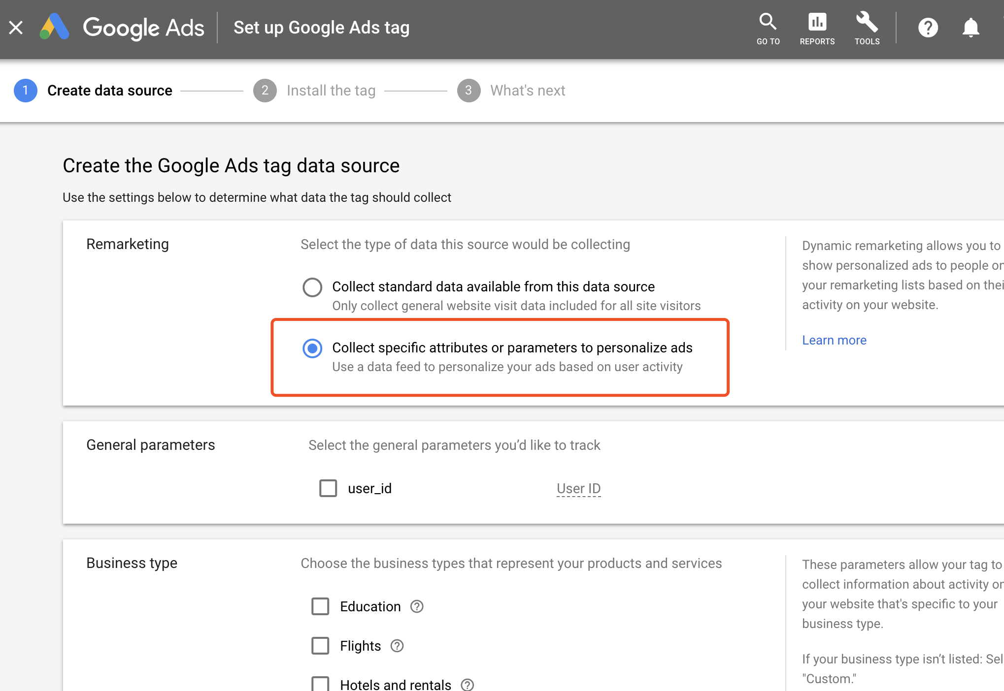 Dynamic Remarketing | AdWords API | Google Developers