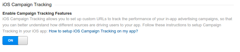 iOS 广告系列跟踪