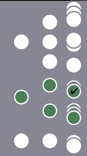 Entre três usuários, o segundo usuário e todas as sessões dele são incluídas no segmento devido a uma única condição correspondente no nível do hit.As sessões dos outros dois usuários são excluídas.