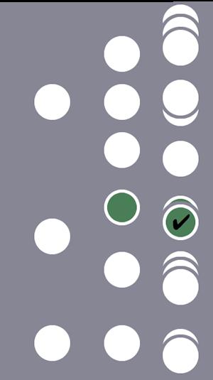 Entre três usuários, somente o segundo e uma única sessão são incluídos no segmento devido a uma única condição correspondente no nível do hit.Os outros dois usuários e suas sessões são excluídos.