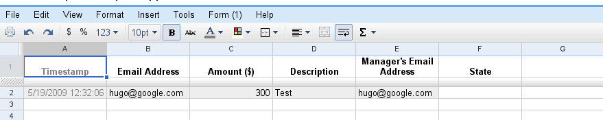 This Spreadsheet Will Contain: All Expense Reports ...