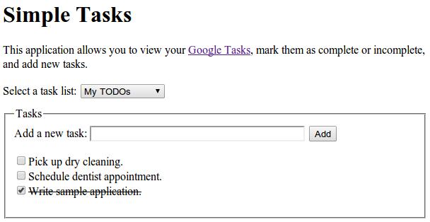 Tasks Service | Apps Script | Google Developers