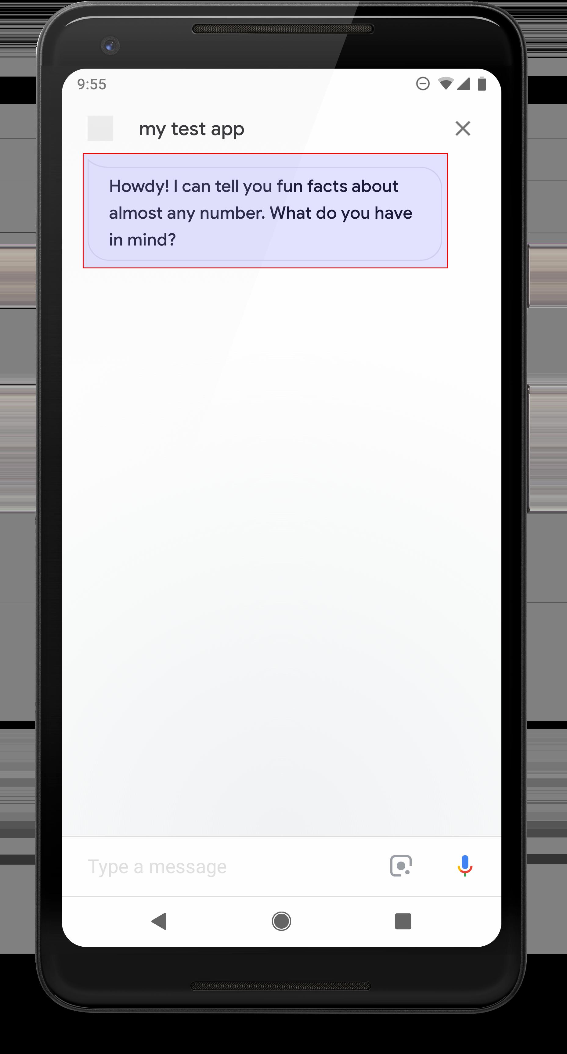 Responses | Conversational Actions | Google Developers