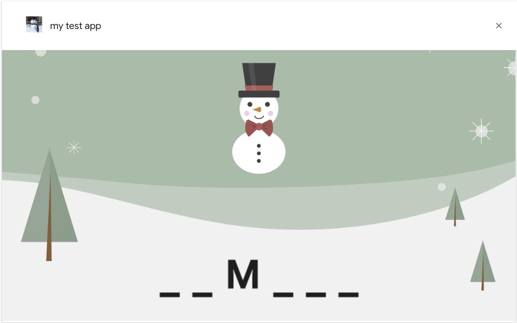Interactive Canvas walkthrough | Actions on Google | Google