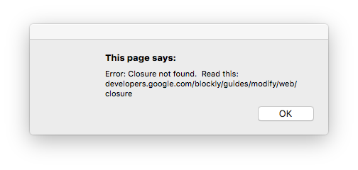 Closure Library   Blockly   Google Developers
