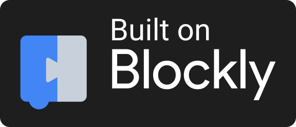 Built on Blockly black
