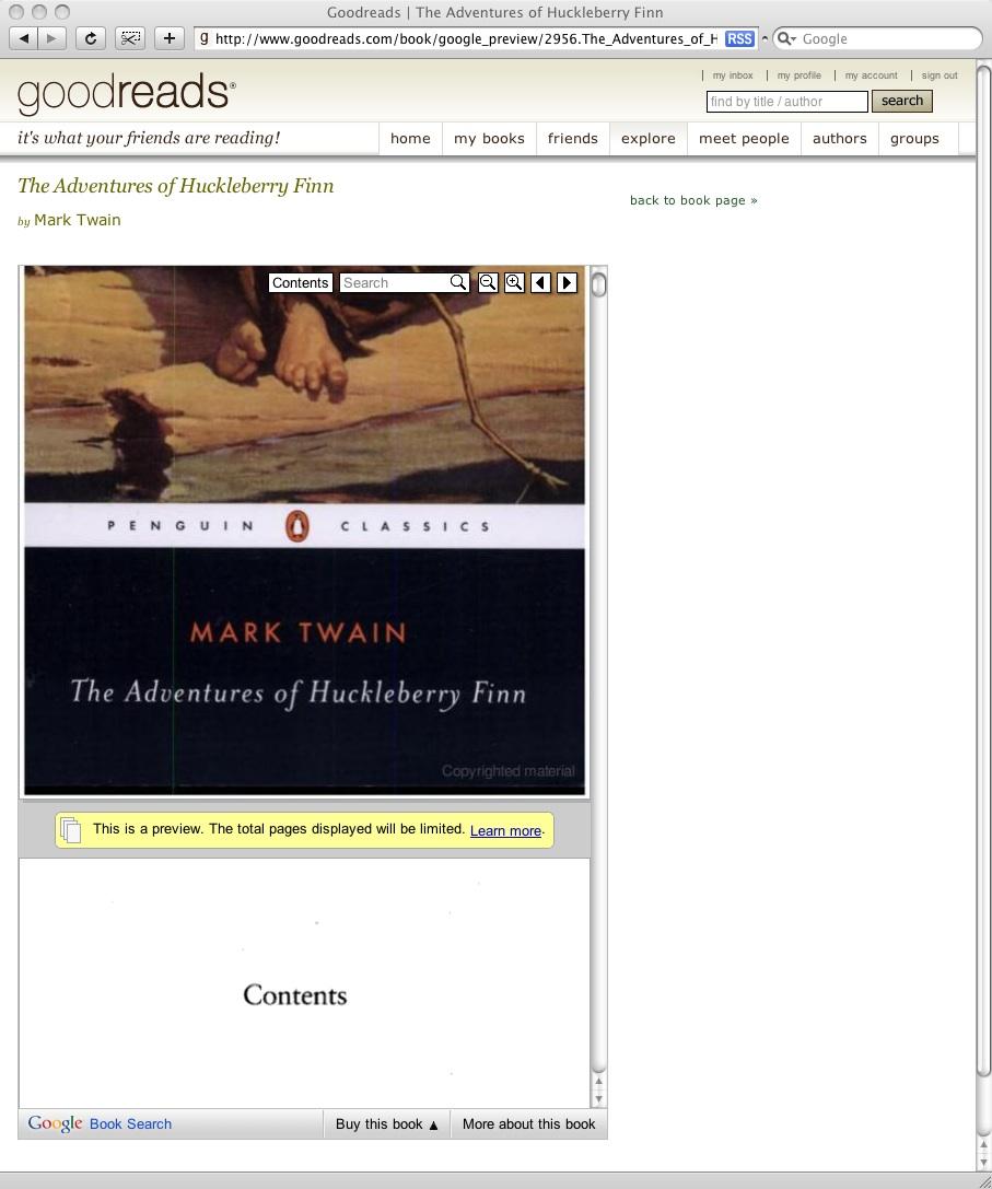 Who's using it: GoodReads | Google Books APIs | Google