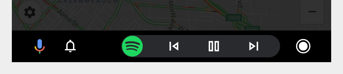 Navigation bar flipped for right-hand drive
