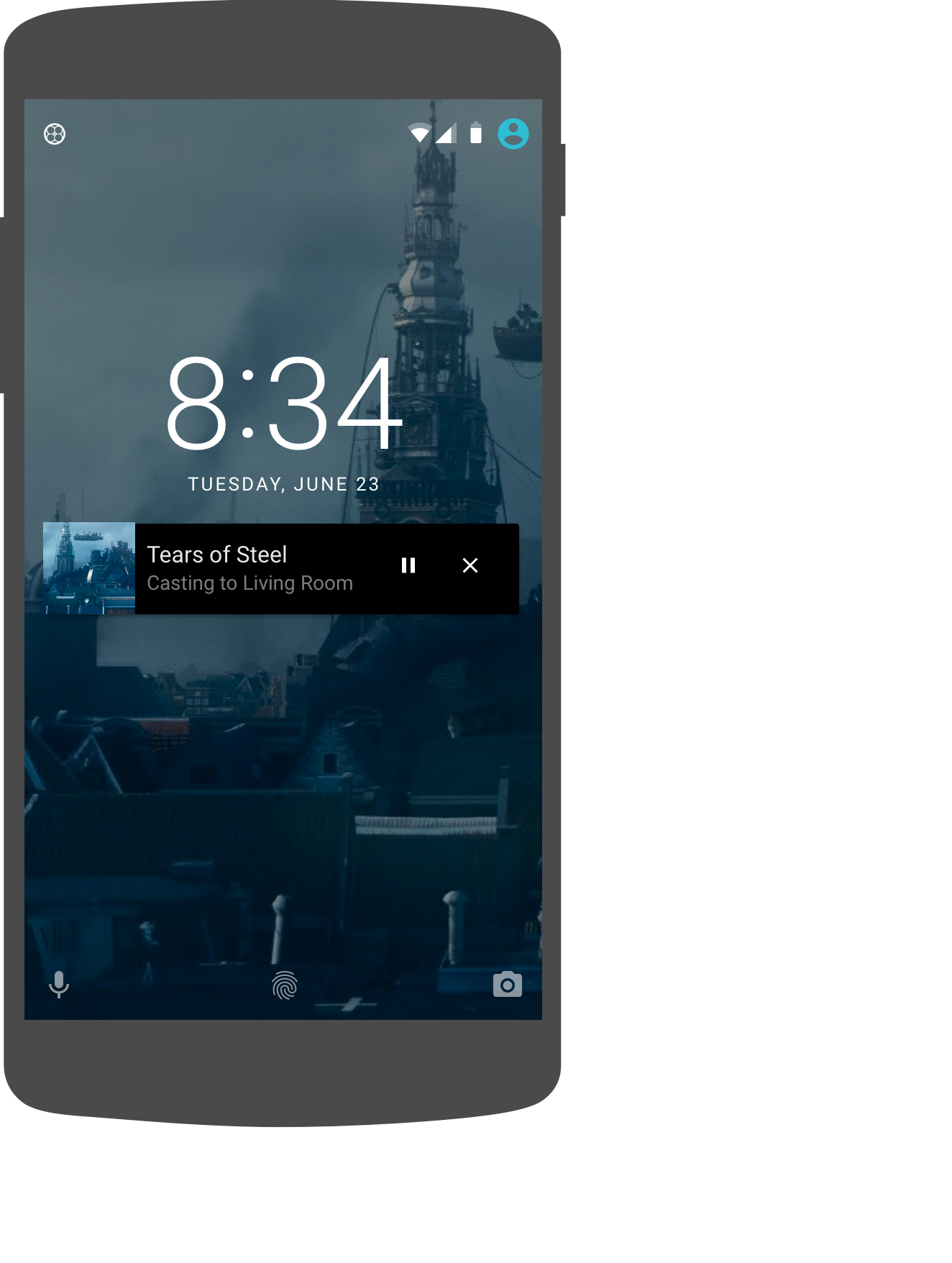 Sender App Cast Google Developers Better Volume And Balance Controls Lock Screen