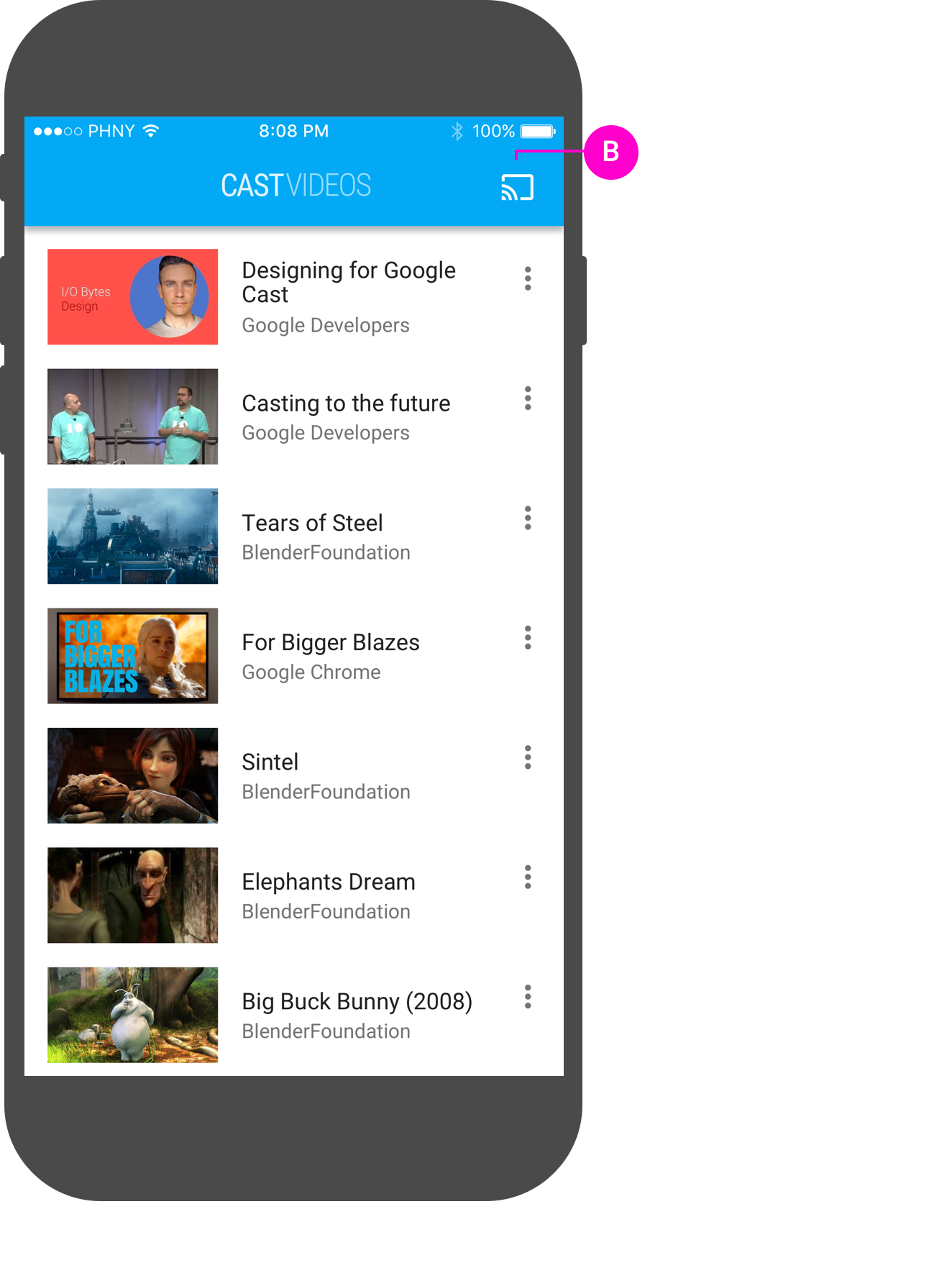 add chromecast extension to chrome on iphone