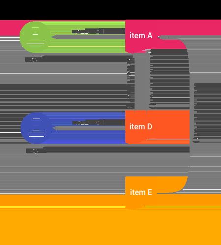 Dibujo de conexiones entre elementos