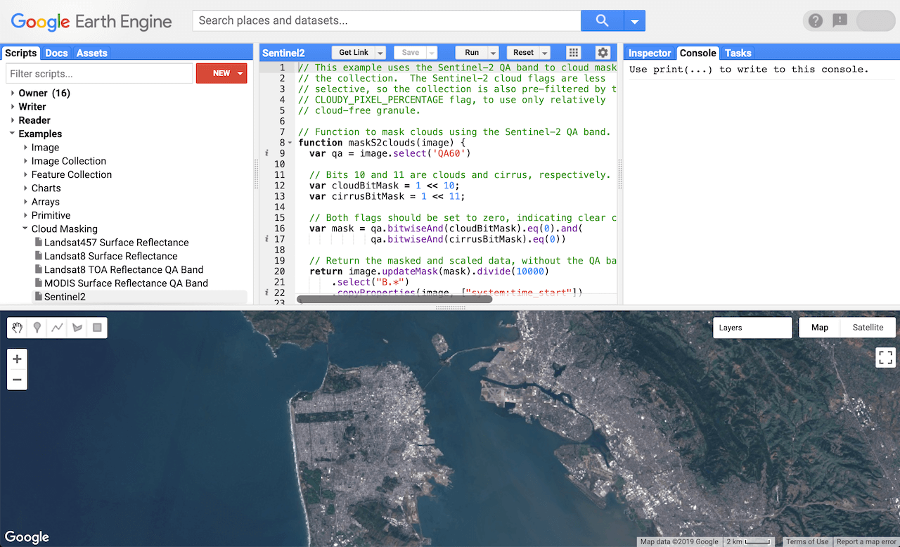 Get Started with Earth Engine | Google Earth Engine API | Google