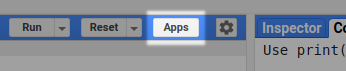 Manage Apps Button