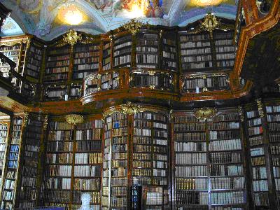 monastary library