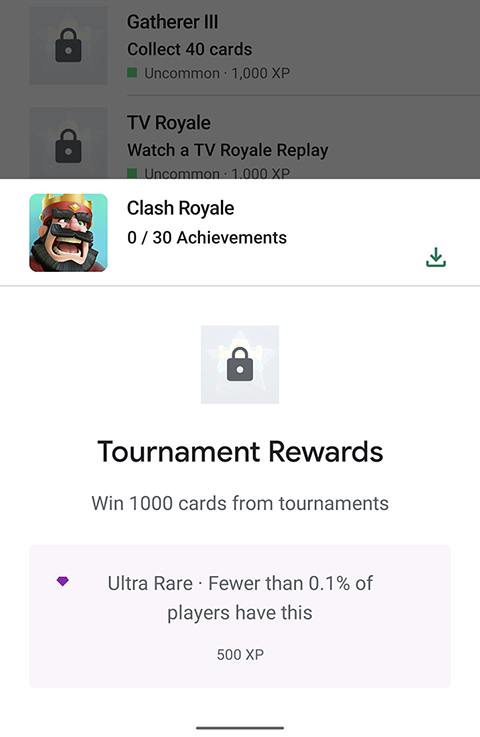 hard to earn achievement that requires earning 5K gems