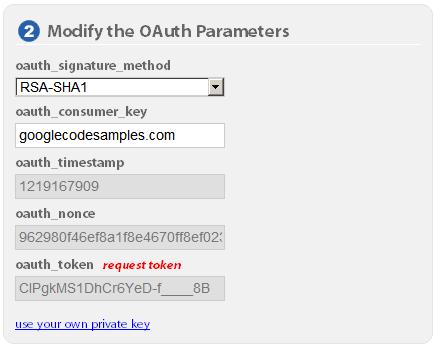Using OAuth with the Google Data APIs | Google Data APIs | Google