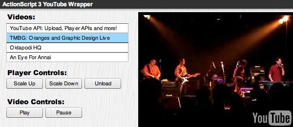 ActionScript 3.0 Wrapper Screenshot