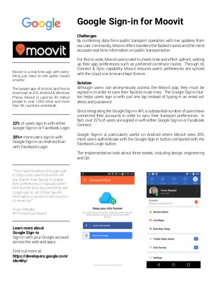Studi kasus Moovit