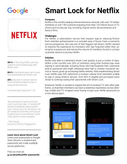 Netflix case study