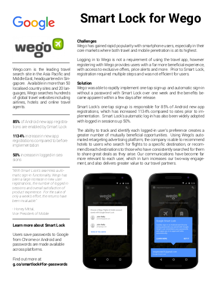 Wego case study