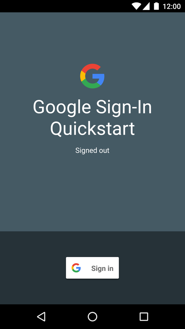 Try Sign-In for Android | Google Sign-In for Android