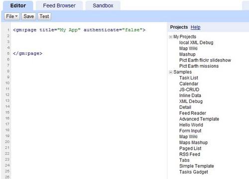 Using KML in Google Mashup Editor | Keyhole Markup Language | Google