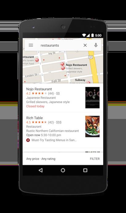 搜索旧金山的餐馆