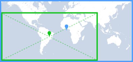 地図のパディング