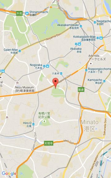 Captura de pantalla de un mapa con un nivel de zoom15