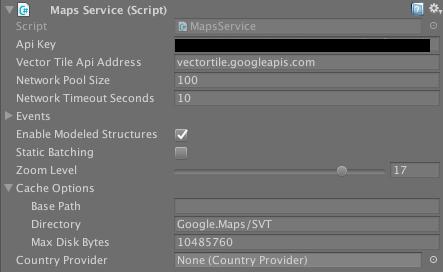 Maps Service (Script)