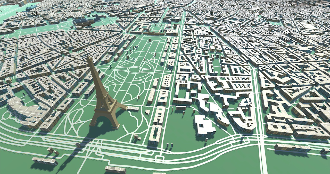 The Statue of Liberty GameObject