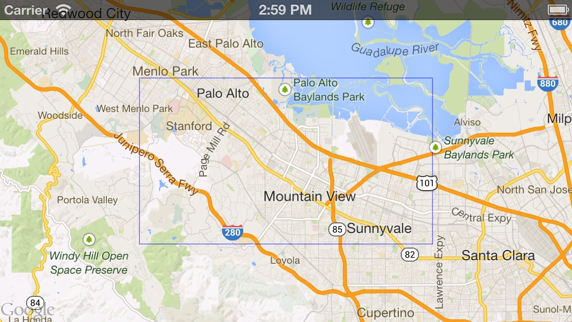 Shapes | Google Maps SDK for iOS | Google Developers on
