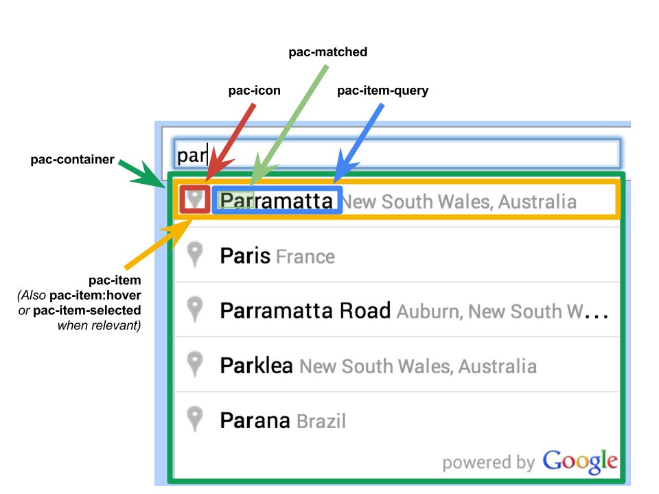 Autocomplete For Addresses And Search Terms Maps Javascript Api