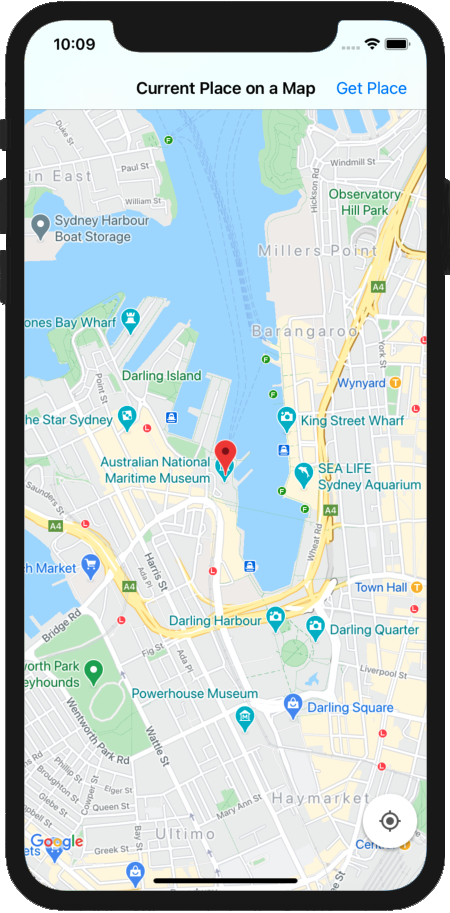 Maps SDK for iOS | Google Developers Google Map For Ios on google messenger ios, google drive ios, google app ios, bloons td 5 ios, bing ios, nokia maps ios, real racing 3 ios, apple maps ios,