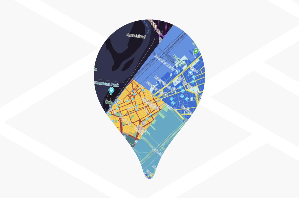클라우드 기반 지도 스타일 지정 - 웹