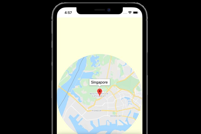 Bild: Codelab: Karten mit SwiftUI in mobile Apps einbinden– iOS