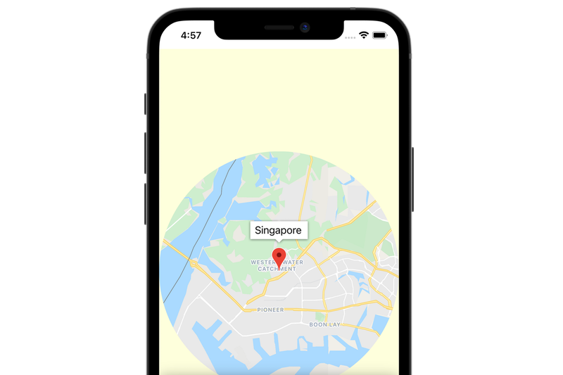 Codelab: Add a map to your mobile app with SwiftUI - iOS