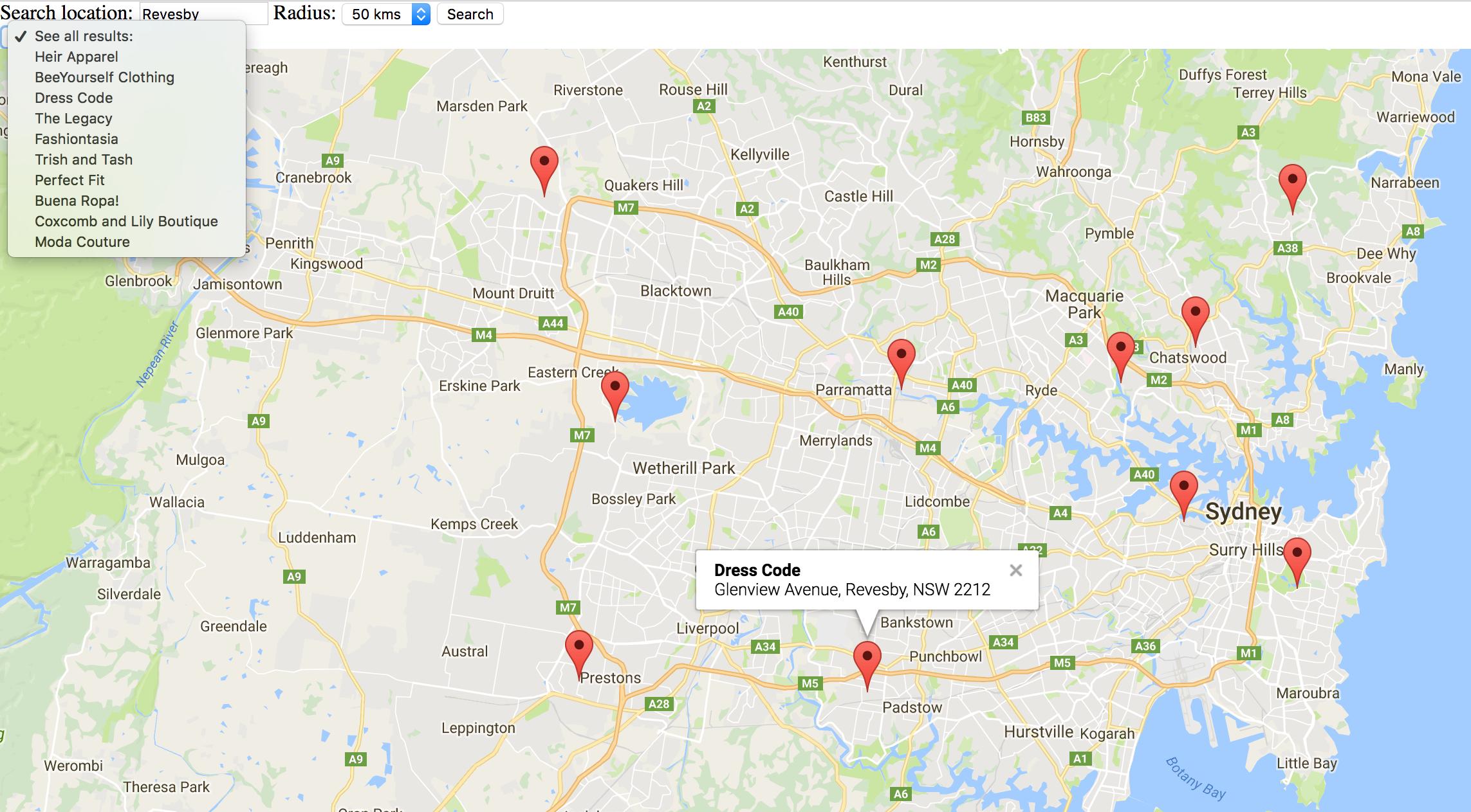 Creating A Store Locator On Google Maps Store Locator