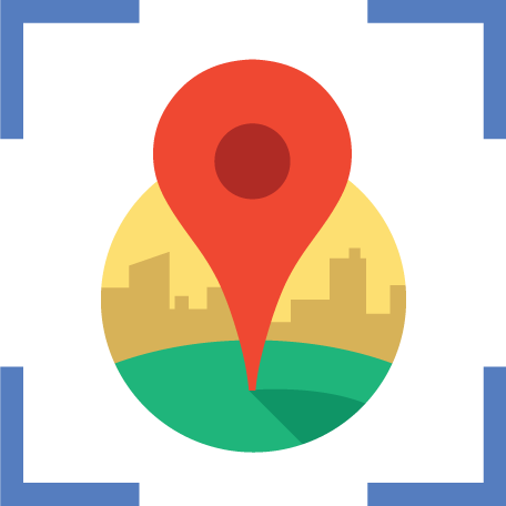 how to show my place in google map