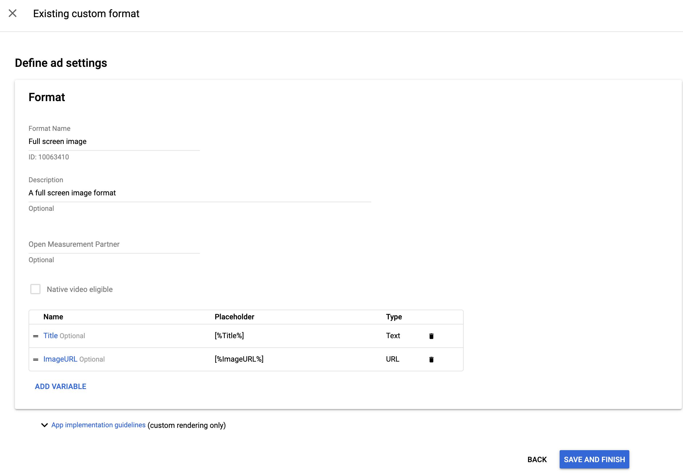 Native Ads - Custom Rendering   Mobile Ads SDK for Android   Google ...