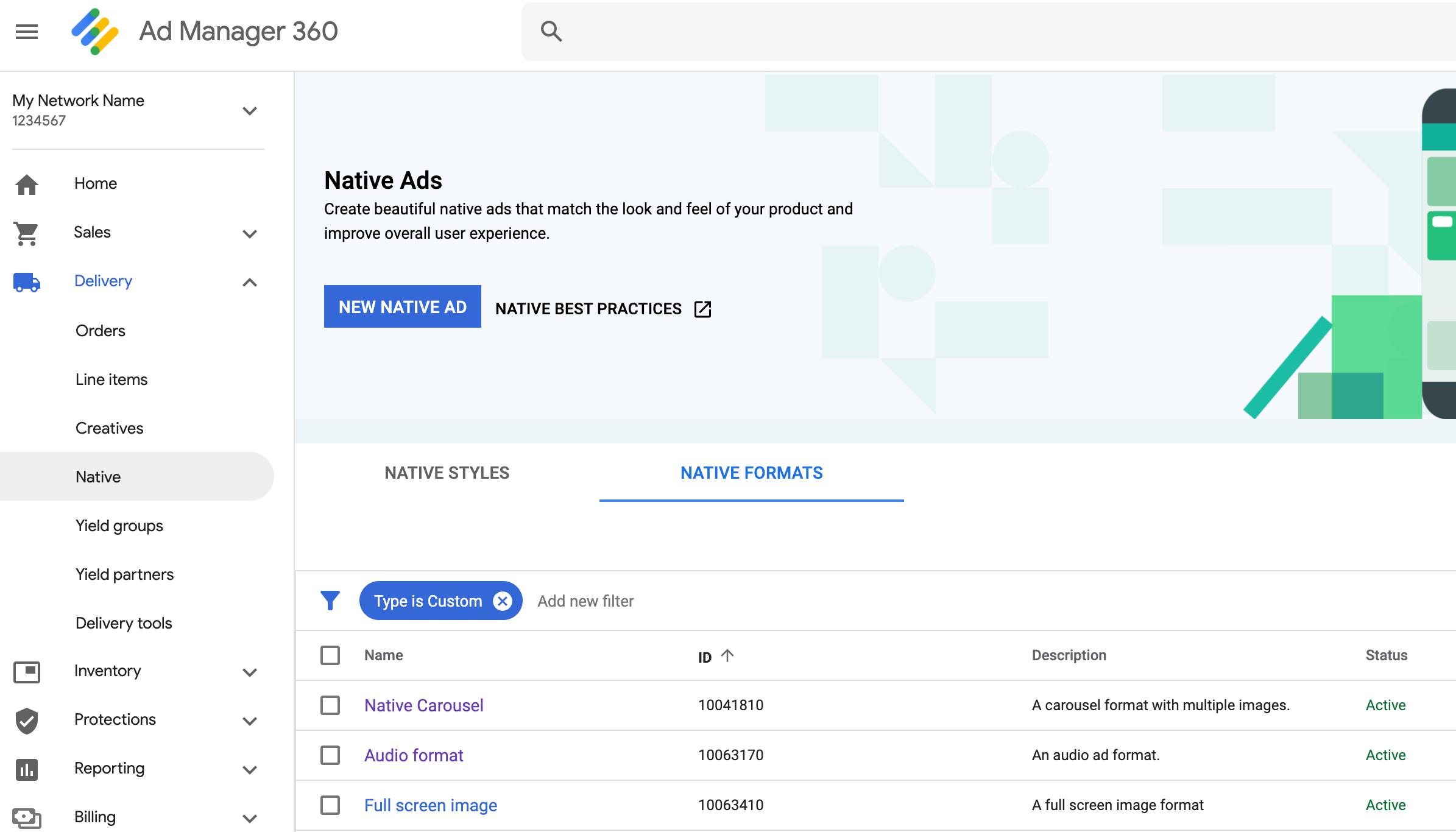 Custom Native Ad Formats | Mobile Ads SDK for iOS | Google