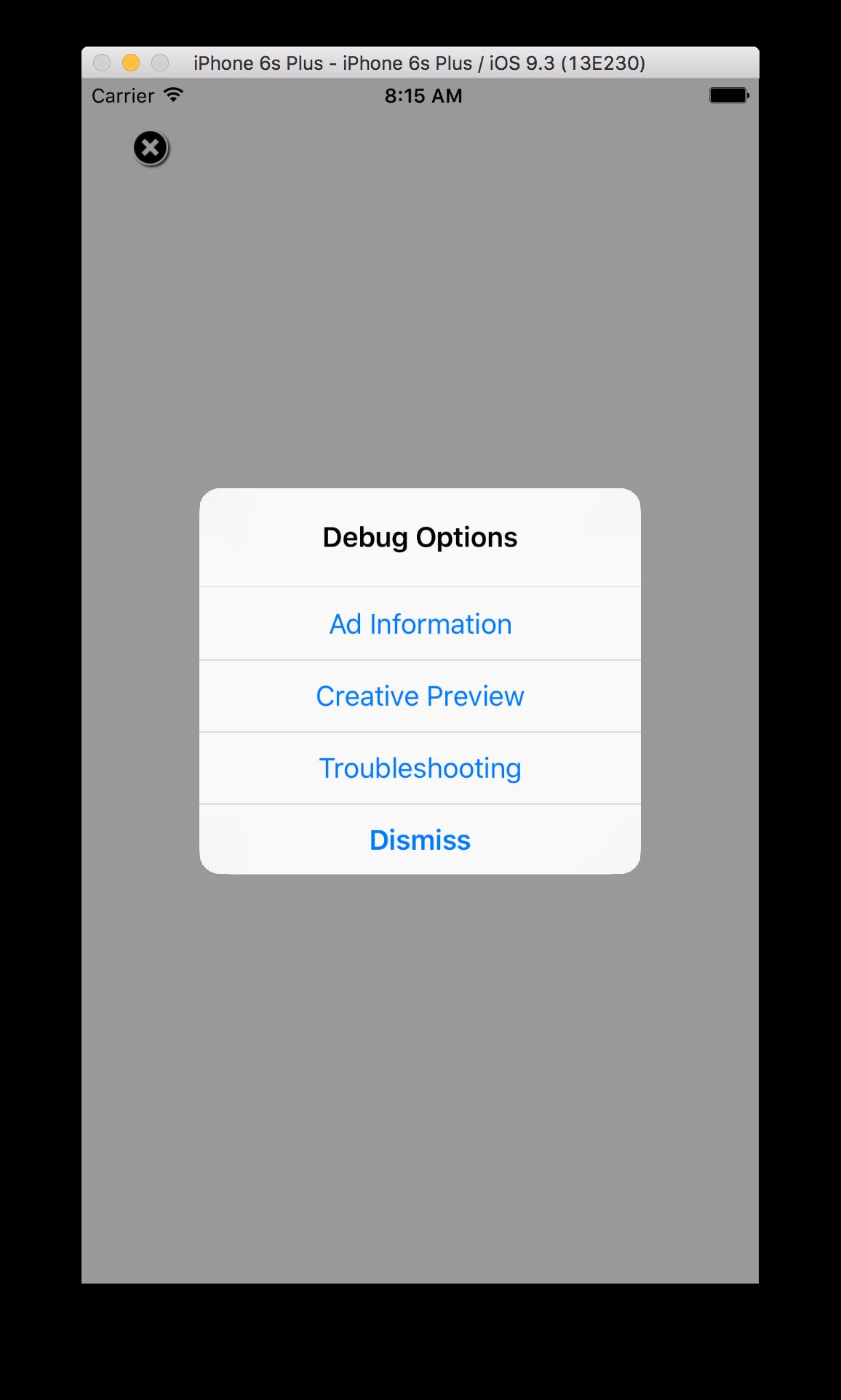 Debugging | Mobile Ads SDK for iOS | Google Developers