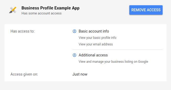 アクセスできるユーザー