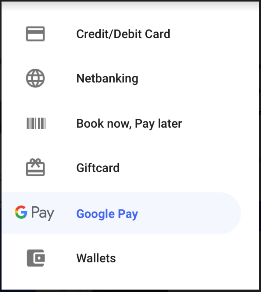 Post-transaction messages | Google Pay APIs for India | Google