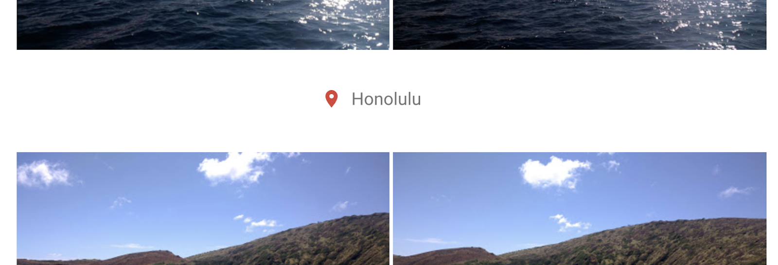 Screenshot of a location enrichment shown in Google Photos