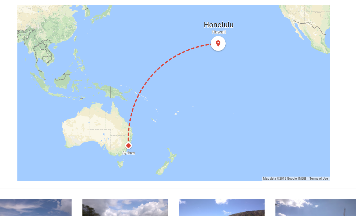 Screenshot of a map enrichment shown in Google Photos
