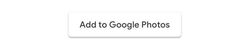 Screenshot of the acceptable usage of an action button without                   the Google Photos logo