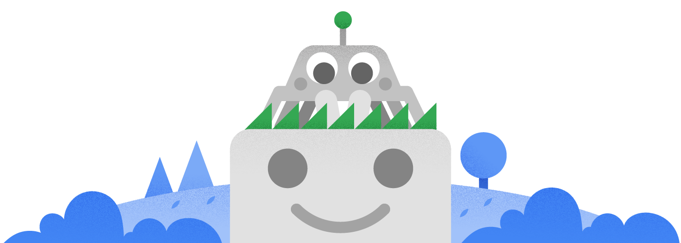 Linh vật Googlebot có diện mạo mới