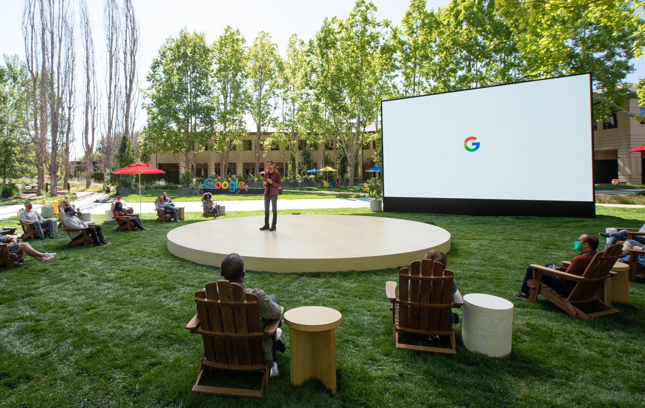 Google I/O 2021 の基調講演